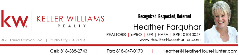 Heather Farquhar Realtor North Hollywood