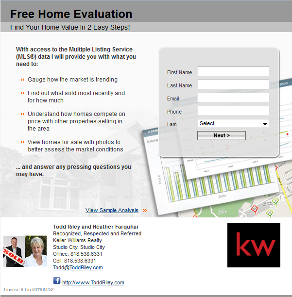 North Hollywood Home Evaluation